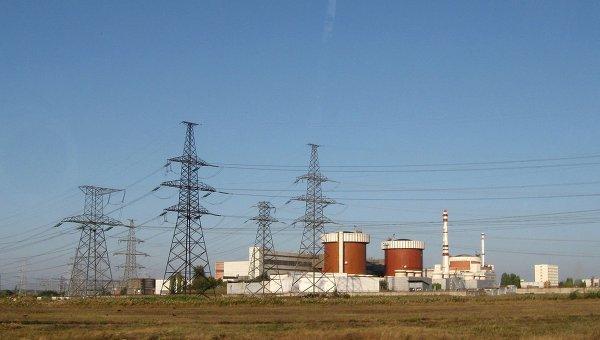 Произошло отключение генератора Южно-Украинской АЭС