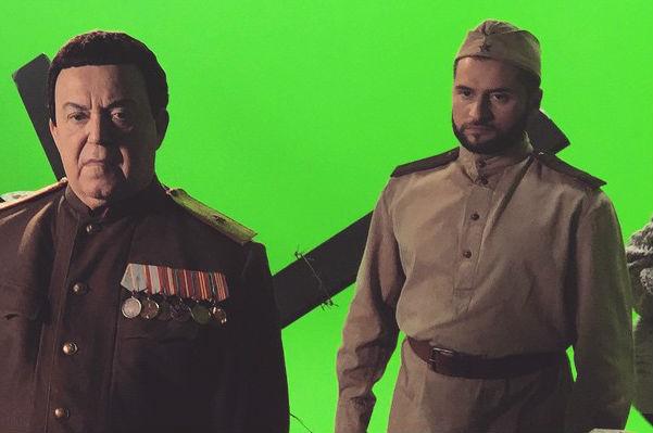 Иосиф Кобзон и Иракли сняли клип к 70-летию Победы