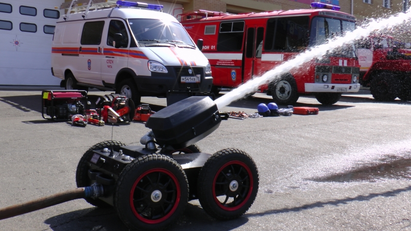 Тушить пожары в Забайкалье будут роботы