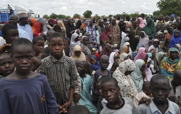800 тысяч детей бежали из Нигерии из-за