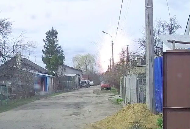 Опубликовано видео взрыва склада пиротехники в Орле