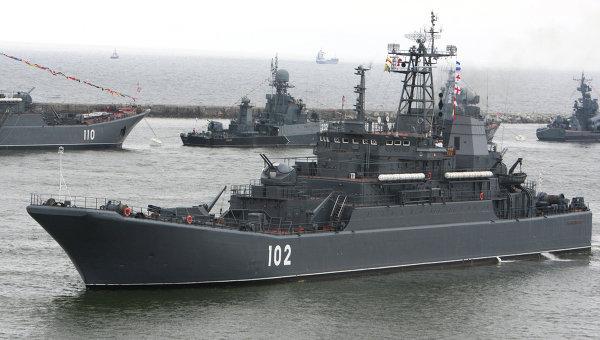 На Северном флоте проверили корабли Минобороны