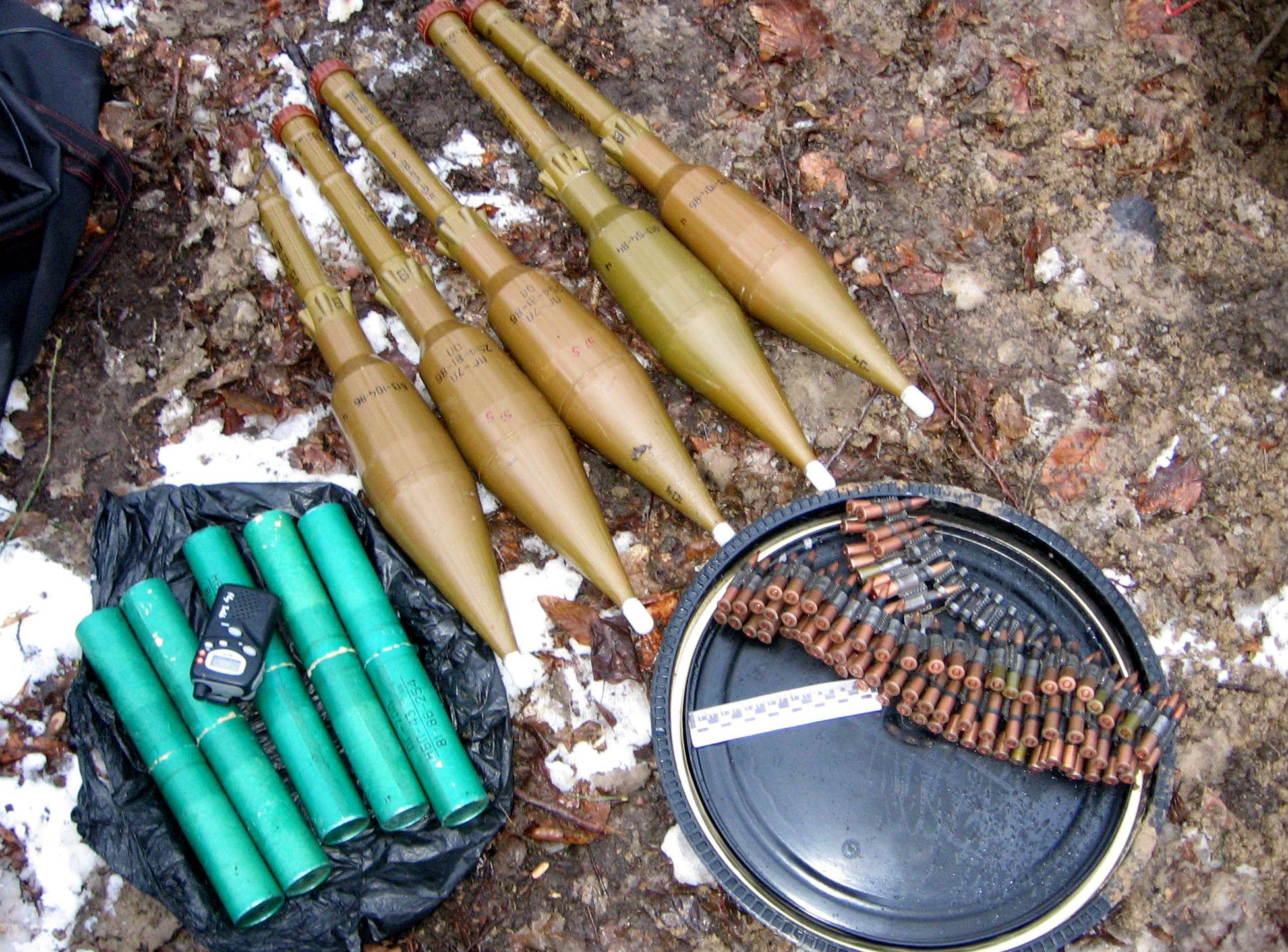 НАК: В Нальчике обнаружен крупный тайник с боеприпасами