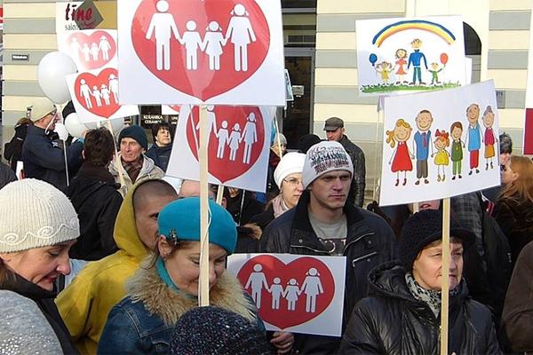 В Вашингтоне прошел марш в поддержку традиционного брака