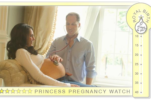 Британцы выбирают имя для будущего ребенка принца Уильяма