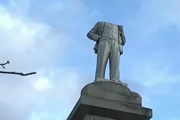 В Оренбургской области обезглавили Ленина