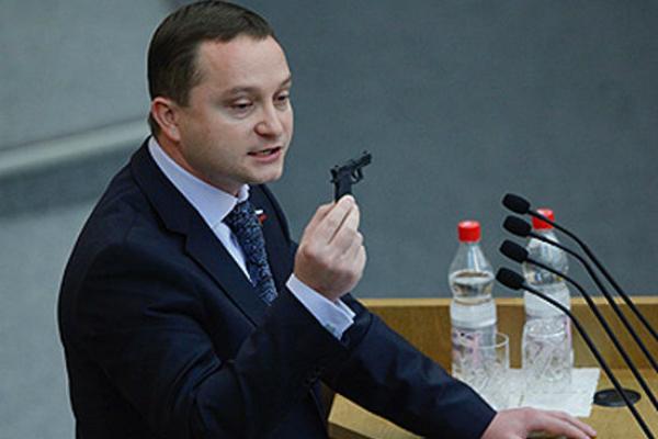 Депутату Худякову мешают ввести в России смертную казнь
