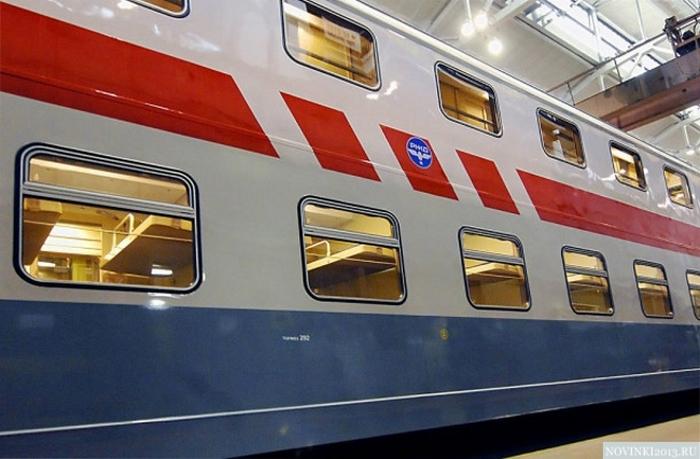 В Казань едут двухэтажные поезда