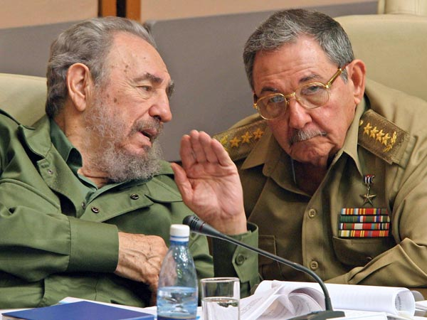 Фидель и Рауль Кастро