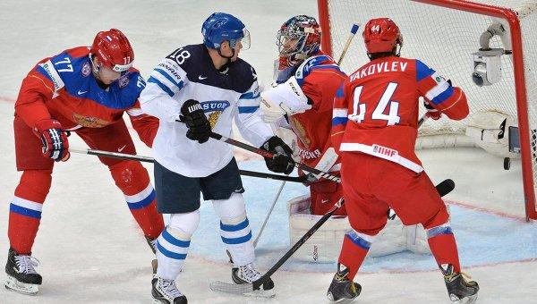 Российские хоккеисты потерпели поражение в матче, на который вышли в форме сборной СССР