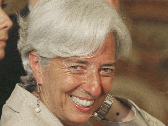 Глава МВФ Лагард лицемерно пожелала России удачи