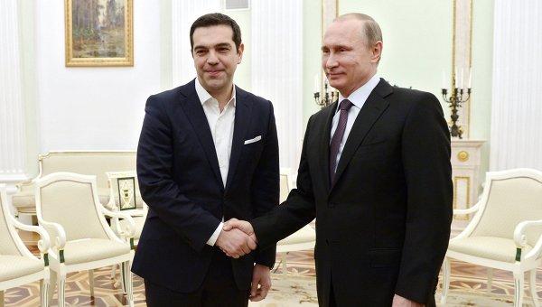 Ципрас договорился с Путиным о сотрудничестве