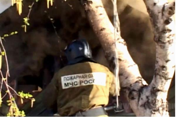 Мать бросила детей гибнуть на пожаре в Ростове