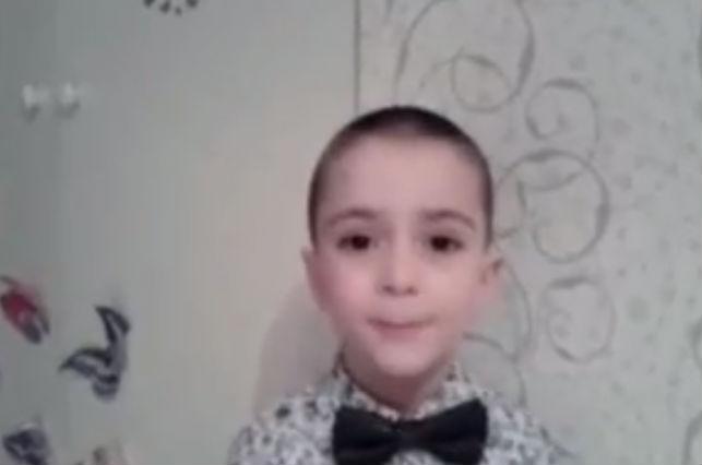 Малыш спросил Путина, трудно ли быть президентом