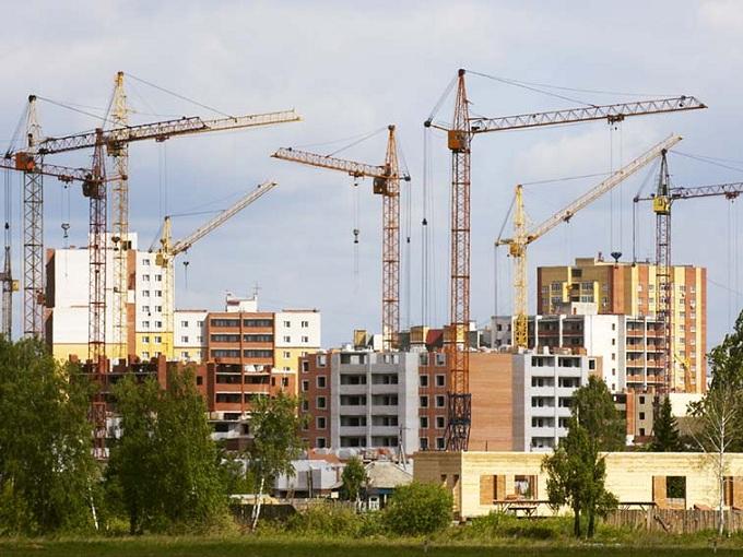 Строительство жилья показывает рекорд и проблему