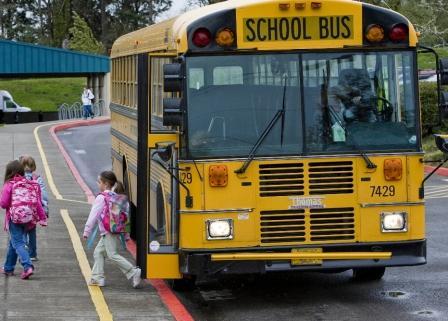В США педофил украл целый школьный автобус