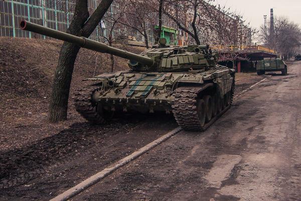 «Кочующие» танки ополченцев атаковали украинских силовиков под Донецком