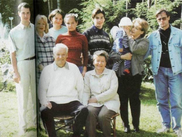 Семейство Ельциных