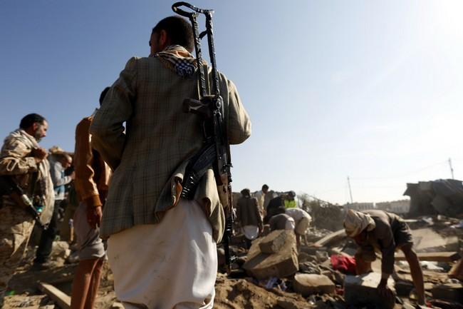 Коалиция арабских стран атаковала с воздуха резиденцию президента Йемена