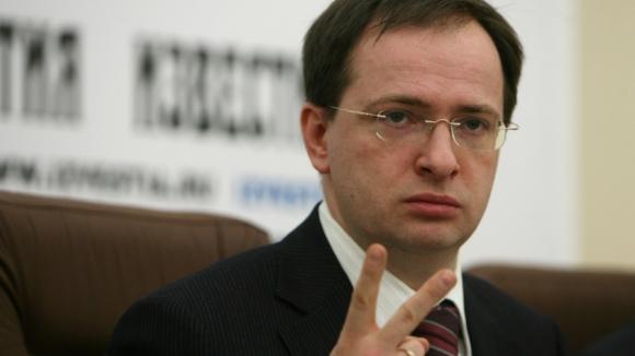 Министр культуры РФ Мединский представит свою книгу на книжном салоне в Женеве