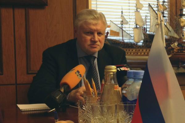 Партия Миронова подвергла критике министра сельского хозяйства