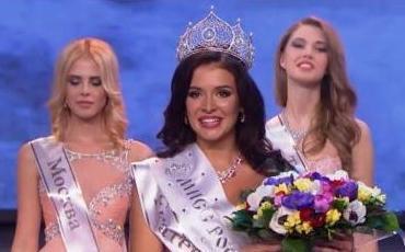 София Никитчук из Екатеринбурга стала Мисс Россия-2015