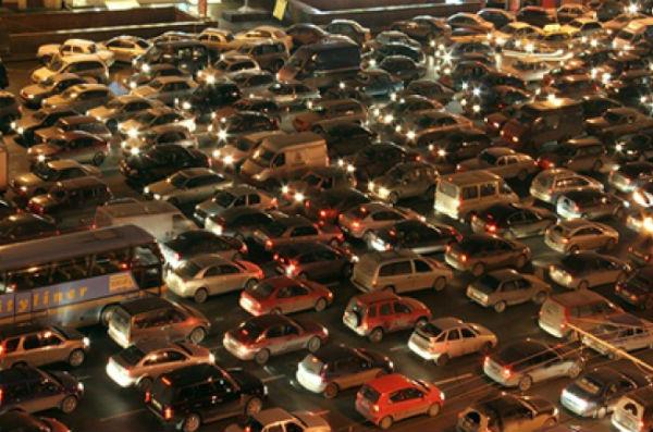 Москва заняла 4-е место в рейтинге городов с самыми крупными дорожными пробками