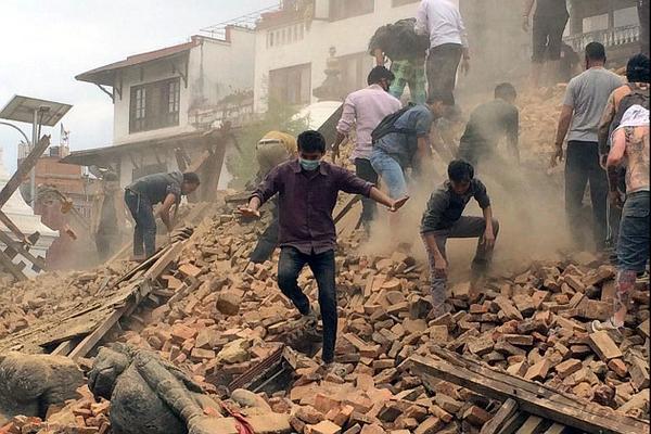 В Непале слышны новые подземные толчки магнитудой 5 баллов