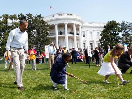 Дикие пчёлы напали на Обаму возле Белого дома