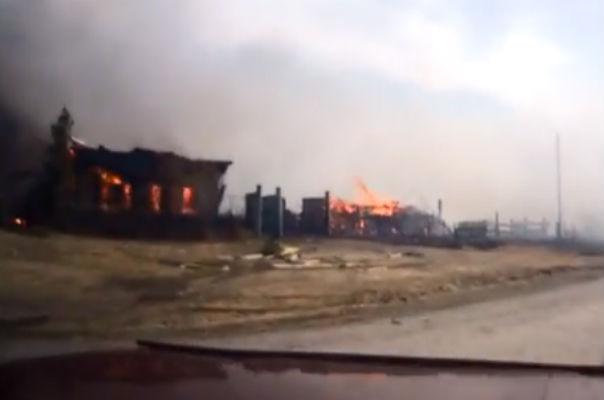 5 человек погибли, 70 пострадали в пожарах в Хакасии