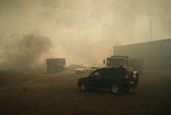 Жители Хакасии сами подожгли свои дома