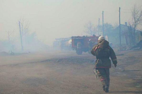 Режим ЧС введен в Хакасии из-за крупнейшего пожара