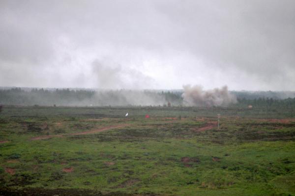 Осколок снаряда повредил газопровод под Ростовом