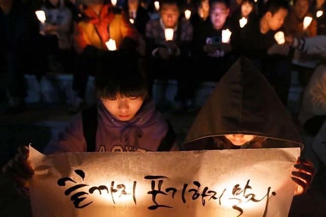 Семья Одри Хепберн посадит лес в память о детях, погибших на пароме Севол в Корее
