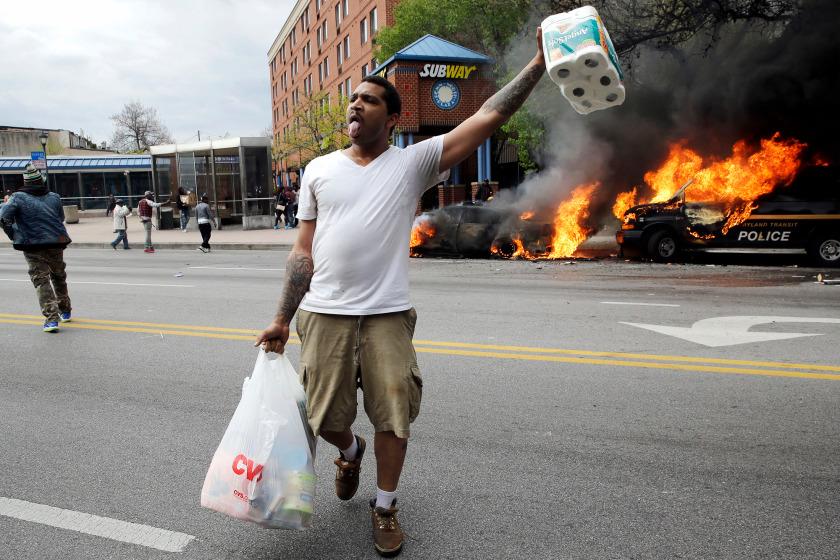 Америка шокирована беспорядками в Балтиморе