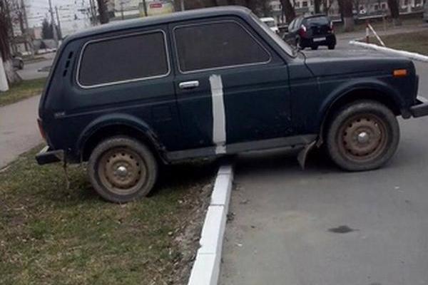 Война между коммунальщиками и автомобилистами Украины привела к курьезному инциденту
