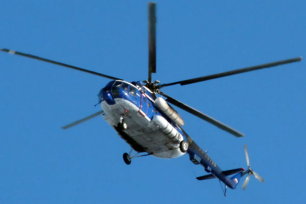 Штаб АТО испугался вертолета Ми-8 в небе Украины