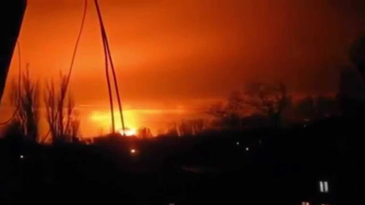 Склад с боеприпасами загорелся в Ростовской области