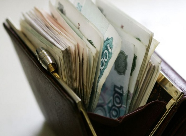 Зарплата россиян упала на 9%