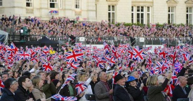 В Лондоне прошел парад, посвященный 70-летию Победы