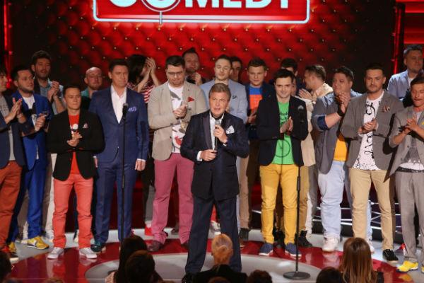Резиденты Comedy Club споют с Львом Лещенко «День Победы»