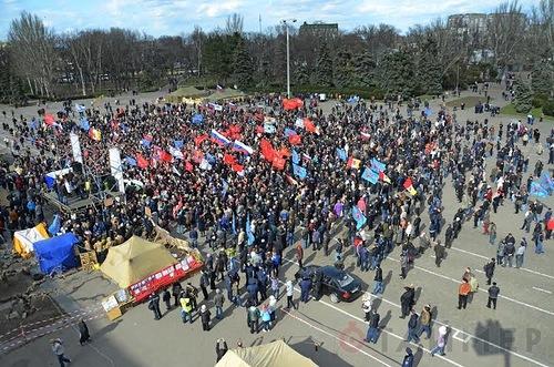 В Одессе начались задержания антимайдановцев
