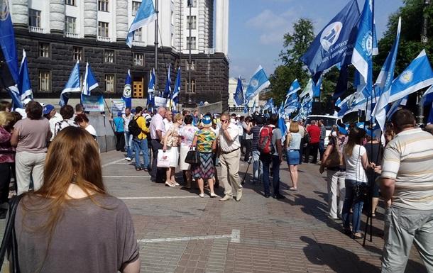 ВИЧ-инфицированные украинцы атаковали здание Кабмина