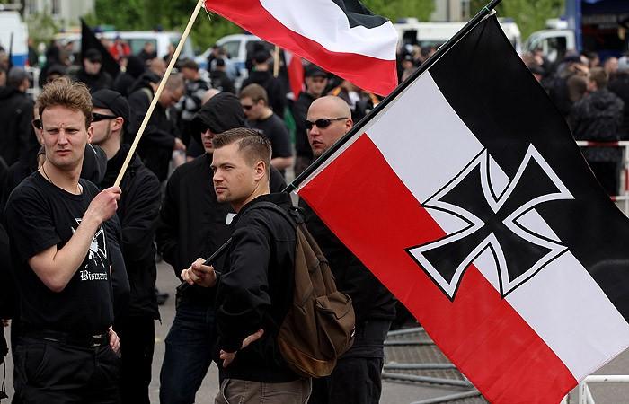 В Германии неонацисты напали на участников первомайской демонстрации