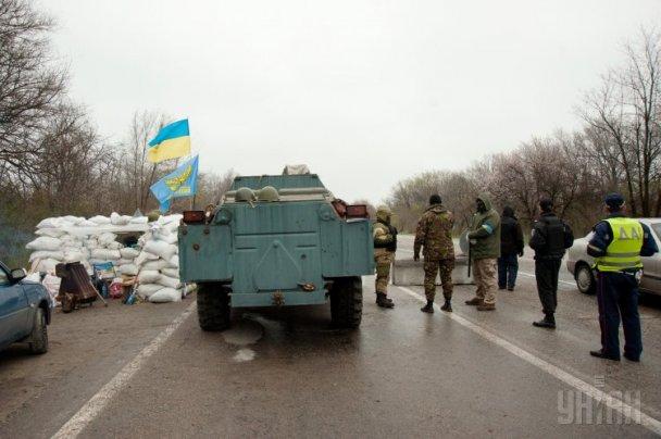 В Запорожской области на блокпосту ранили троих милиционеров