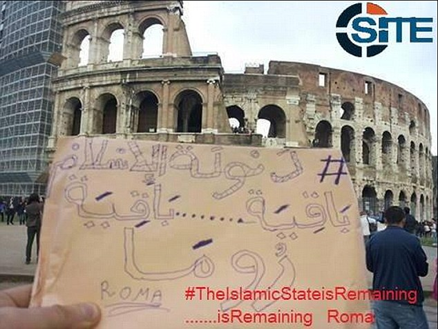 Боевики ИГИЛ совершили туристическую прогулку по Риму