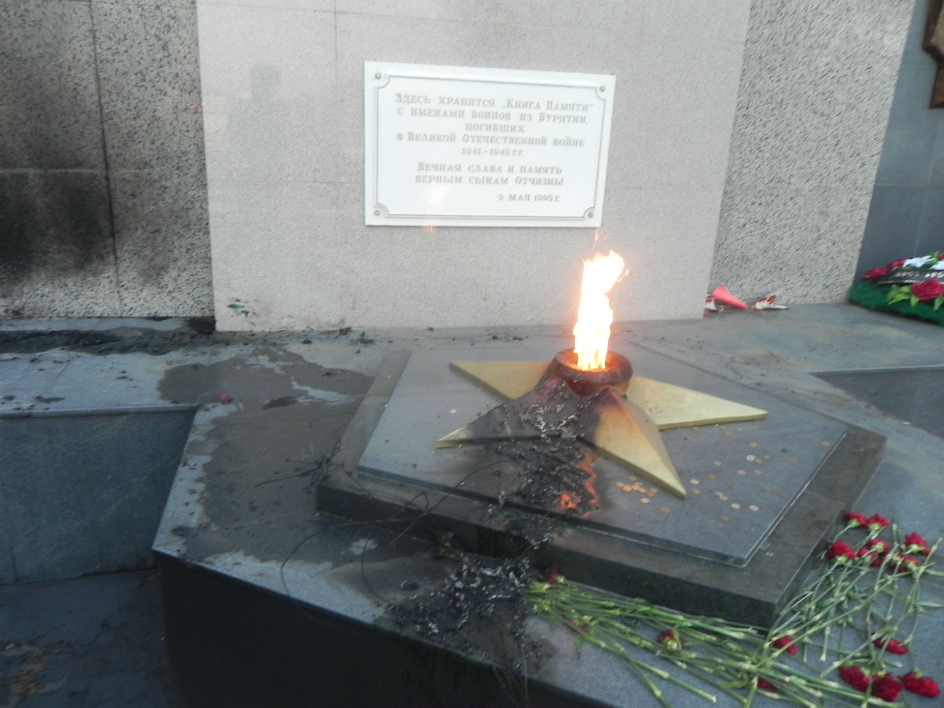 Поджигателем мемориала Победы в Улан-Удэ оказался бывший военный