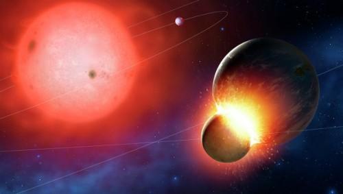 Ученые впервые наблюдали столкновение белого карлика со звездой