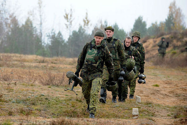 Литовская армия начала полевые учения в рамках «Удара молнии»
