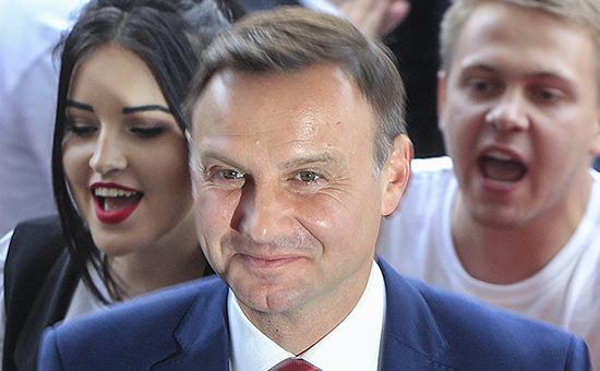На выборах президента Польши побеждает Анджей Дуда